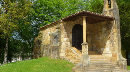 Gallaecia Sueva - Kapelle Santa Cruz in Cangas de Onís